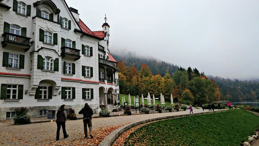 Neuschwanstein Traveling Europe Fall Beauty Mountains And Sky EyeEm Nature Lover Mobilephotography Schwangau Germany Colors Of Autumn