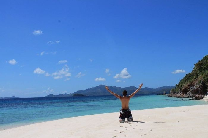 clearly this is it, My Best Photo 2015 the relaxing view and the majestic place called beach nature Philippines Coron, Palawan Beach 👍🌞😎👌☀🏊🗾🏄☝