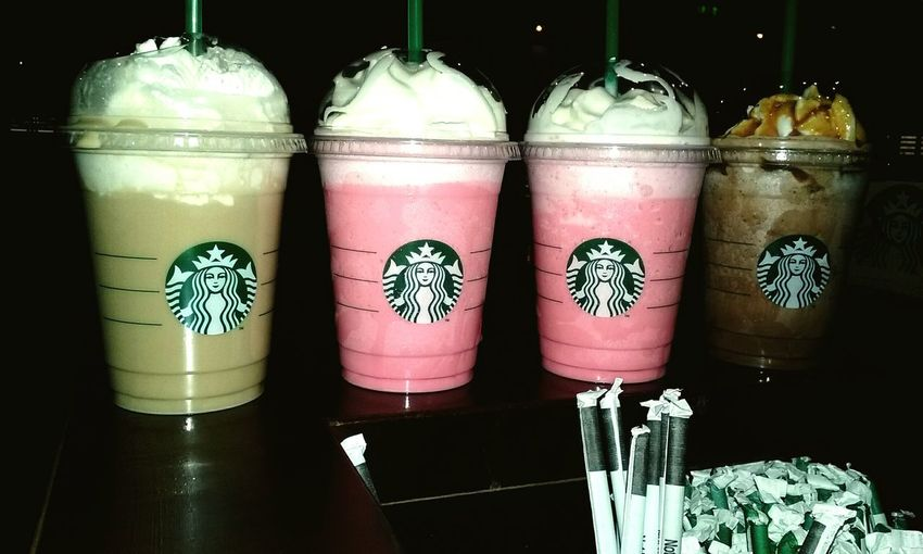 Starbucks Frappuccino Pink Frappucino Friends Check This Out Work Barista Baristalife Awesomejob Showcase July