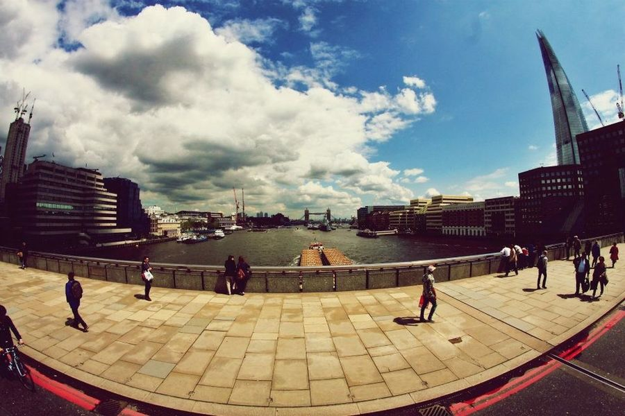London Londra Tamigi Onbus Traveling Viaggiare Colors Canon1100d Fisheye