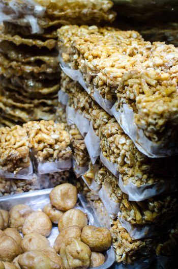 Typical Peruvian sweet rice Colors Crispy Dessert Isolated Rice Snack Background Bar Beauty Candied Candy Closeup Cristmas Delicious Dry Food Grain Healthy Photo Puff Puffed Sweet Tasty Three White