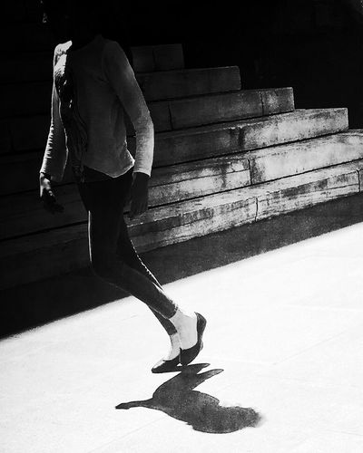 Brooklyn beauty Walking Sunlight Casual Clothing Young Adult Shootermag Steps Blackandwhite Streetphotography Unrecognizable Person EyeEm Best Pics The Week Of Eyeem The Week On Eyem EyeEm Best Edits Monochrome IPhoneography Shadow New York City Youmobile TakeoverContrast People And Places AMPt - Street AMPt Community Everybodystreet Monochrome Photography