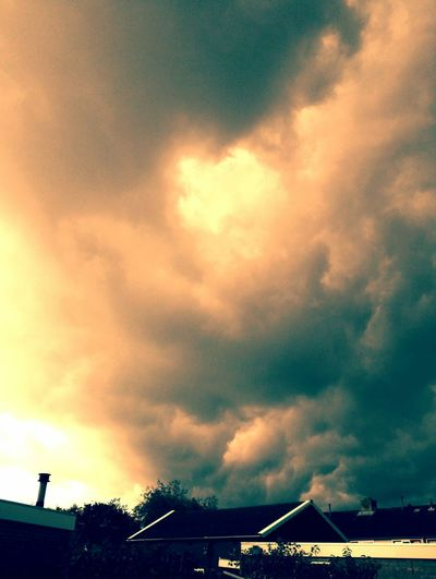 Bad Wheather Storm Clouds