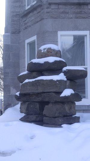 inuksuk Human-made Stone Landmark Inuksuk Inuit Culture Art Inuit Cultural Symbol.