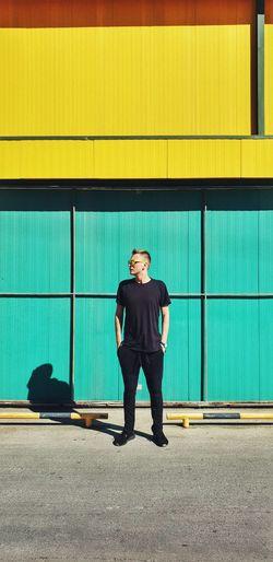 City Ghetto Full Length Standing Portrait
