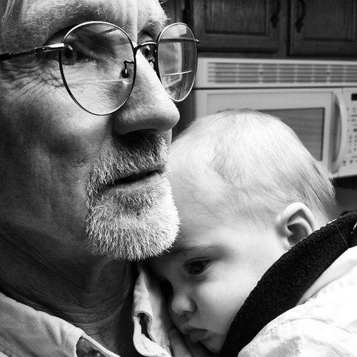 Grandpa Loveshislittleguy Littleguyloveshim Buddies cutekid cuddling