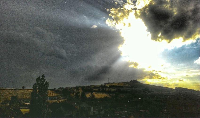 Monferrato Quietedopolatempesta Sun Clouds After Rain Beauty In Nature