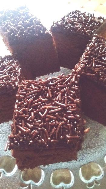 My chocolate Brownies 💋 Chocolate Brownies Loveit SoDelicious Yummy Enjoying A Meal Taking Photos Favfood Popular Photos Foodporn