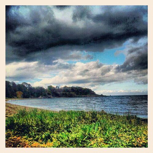 'Calm before the storm' Ravenscraig Kirkcaldy Fife  Scotland Seascape Beach grass Scenery cloudlovers Cloudporn skyporn skymob igscout igscotland igtube igaddict Igers Tagstagram haggismunchers insta_pic_skyart instagood instamob instanaturelover instacanvas instahub Instagrammers PicOfTheDay bestoftheday Primeshots
