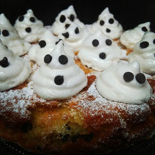 Desserts that I make: Pears&chocolate pie @solozuccheriacolazione.altervista.org Desserts Halloween Pies Marshmallow