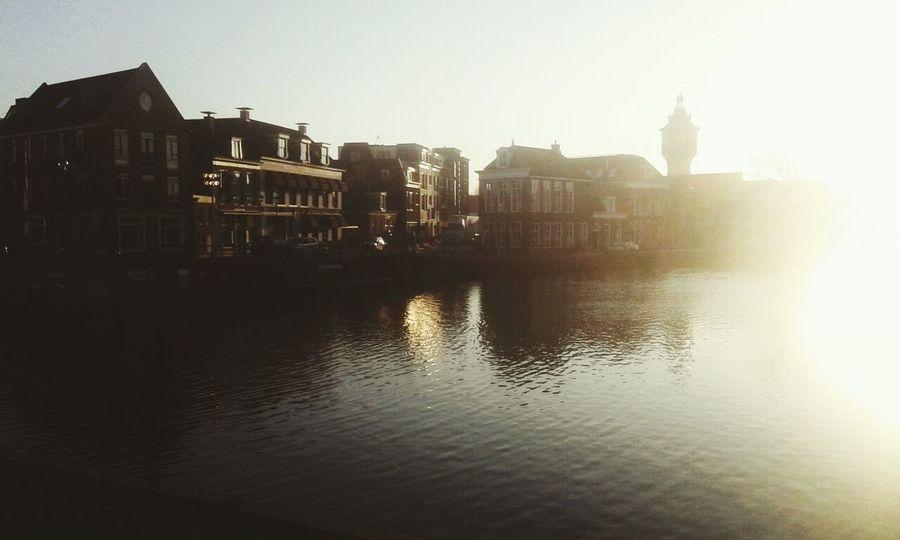Nature Water Sun Building Sneek Dutch City First Eyeem Photo