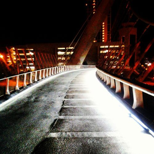 Walk on the nicest bridge in sd to end the night...