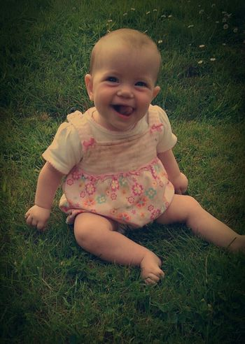 Baby Faye at Grandma s house