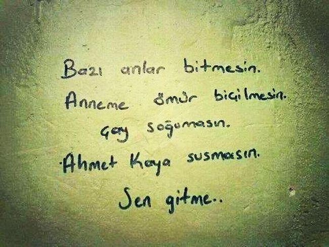 Ahmetkaya Bazı Anlar Bitmesin Sen Gitme Happy 😊😊😊