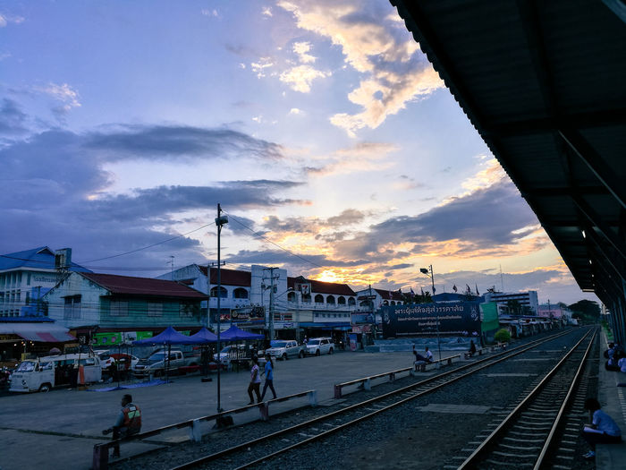 Train station Sisaket province in the northeast of thailand Sisaket,thailand Thailand Train Station