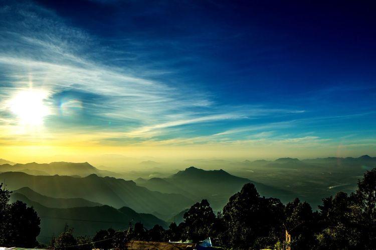 Stunning sunrise view at kodaikanal First Eyeem Photo