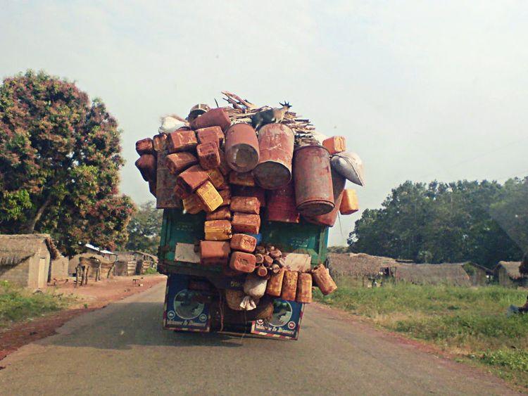 Africa African Safari Brousse Voyages Bangui Surchargée Souvenir