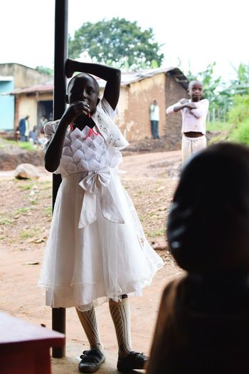Kyamuhunga Uganda People Streetphotography Village Children Bride Bridegroom