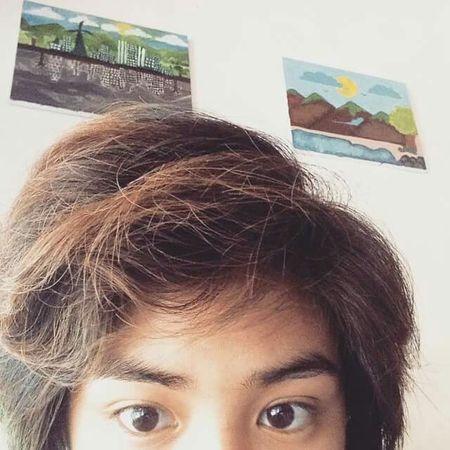 Messy hair don't care Summer Photooftheday Colorsplash Color Portrait Love Smile Selfie Girl That's Me Selfportrait