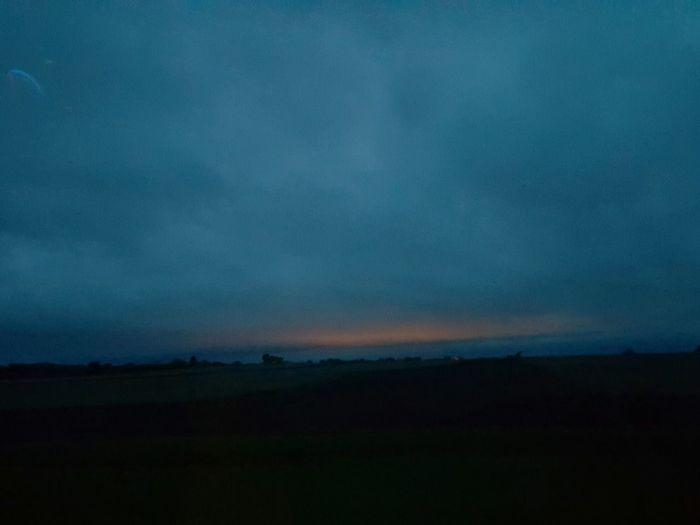 Austin, MN , sunrise, fields ,morning, clouds