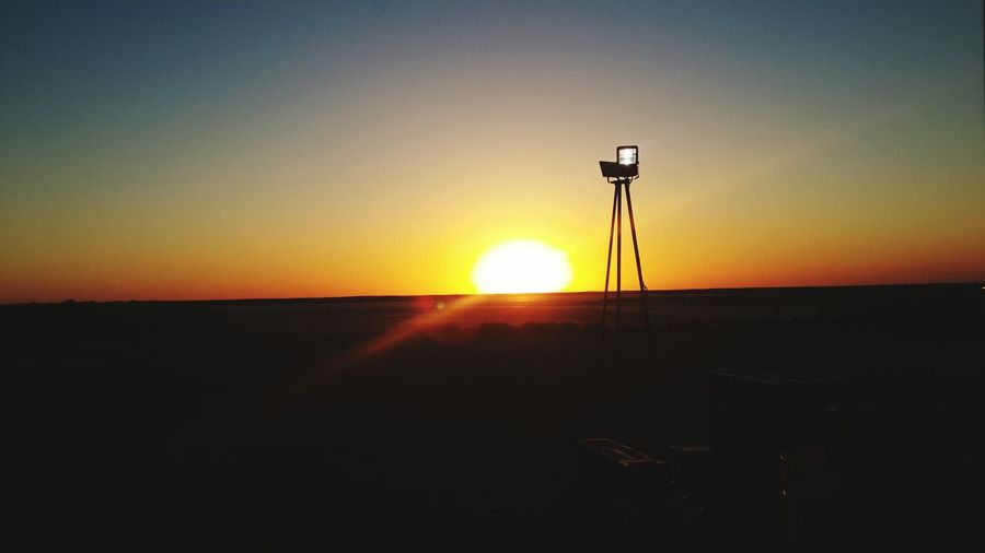 Sunrise In Field рассвет летом