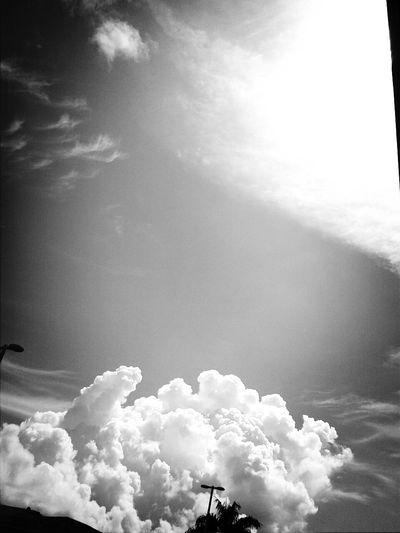 Enjoying Life clouds.. sky...heaven.