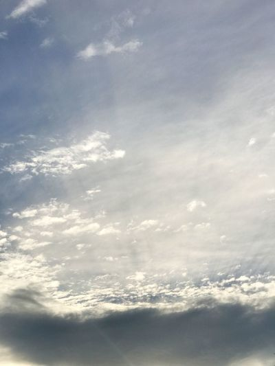 Cloudy Clouds Cloudscape Cloud - Sky Sunset Autumn Sky Evening Evening Sky