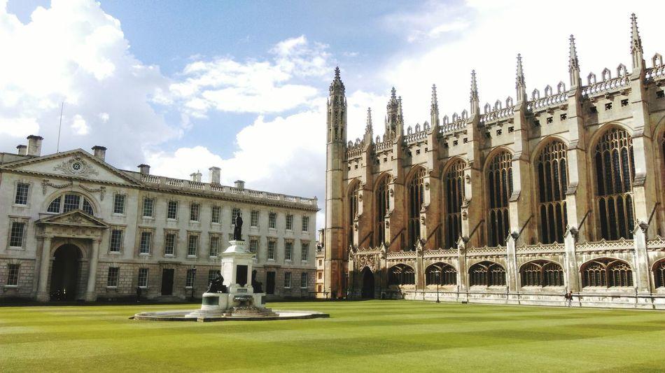 Cambridge Cambridge University King's College University Rasen Englischergarten University Campus University Life Universität  University Of Cambridge British Panorama The Architect - 2016 EyeEm Awards