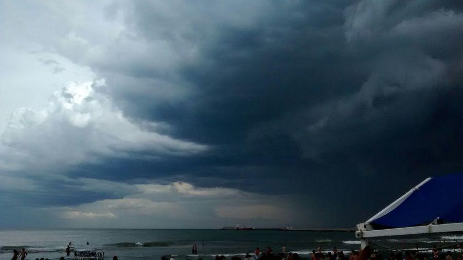Tormenta pasando encima/Storm passing by Sealife Storm Beautiful Nature Mardel
