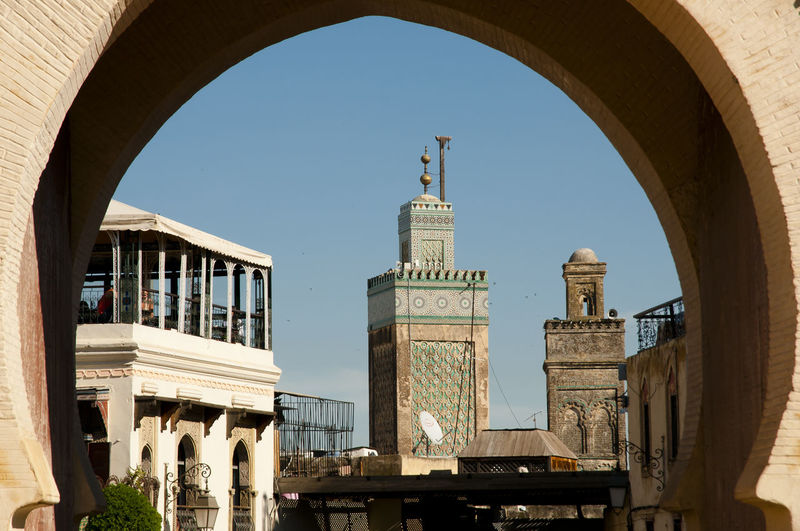 Fez - Morocco City Cityscape Fes Morocco Arch Architecture Building Exterior Built Structure Fez Muslim