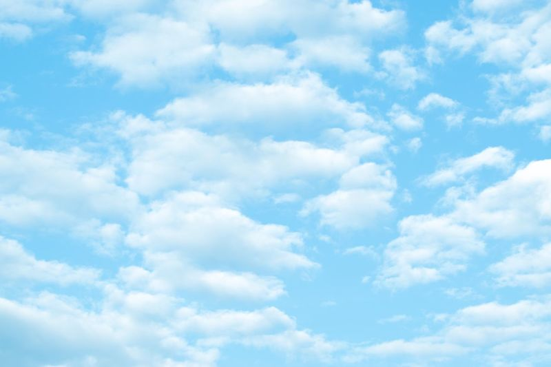 The Simpsons! Nature Beauty In Nature Sky Cloud - Sky Backgrounds Full Frame White Color Softness Sky Only No People Tranquility Low Angle View Day Scenics Outdoors