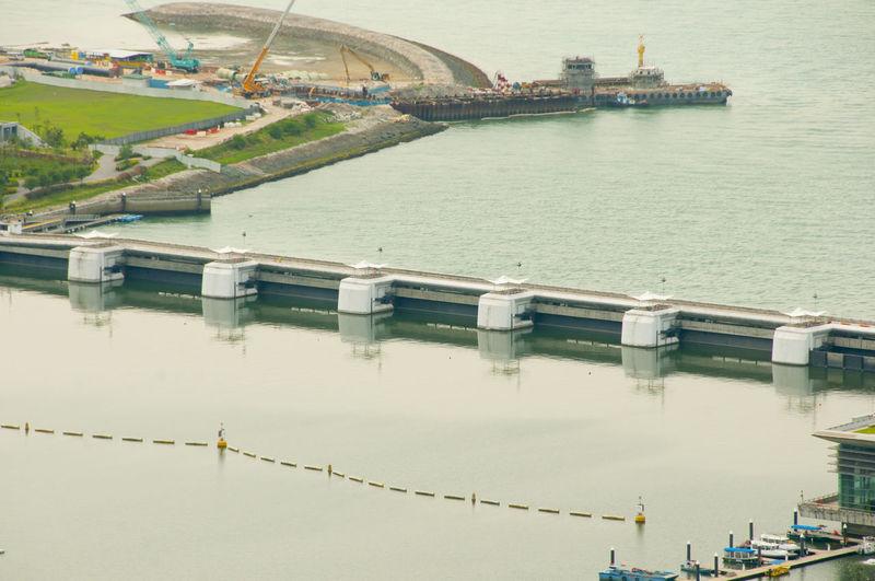 Marina Barrage Singapore City Marina Barrage Dam