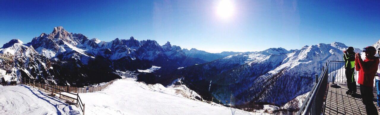 Dolomiti Panorama Spettacolare Altissima Purissima Levissima
