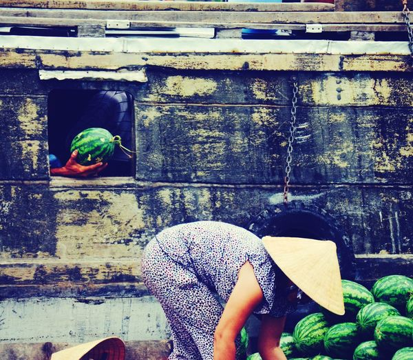 Floating market Vietnam Mekong Delta