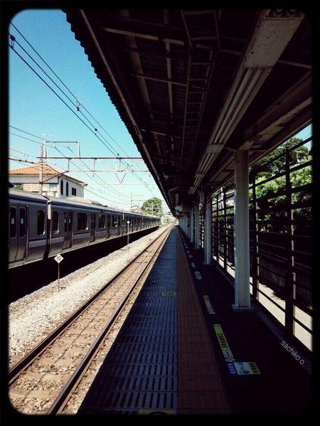Railroads Train Station Train My Favorite Place Vanishing Point