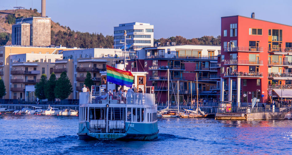 Stockholm Sweden Architecture Water Building Exterior Built Structure Nautical Vessel Transportation City Mode Of Transportation Waterfront Travel Destinations Travel Outdoors Sailboat Passenger Craft Incidental People Residential District