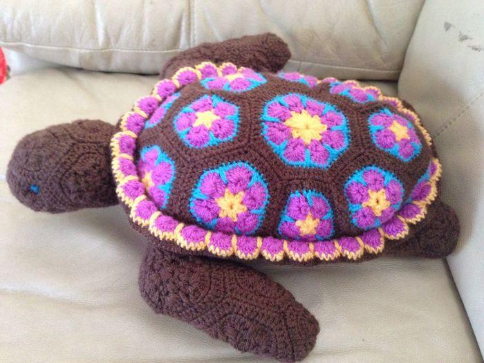 Crocheting My