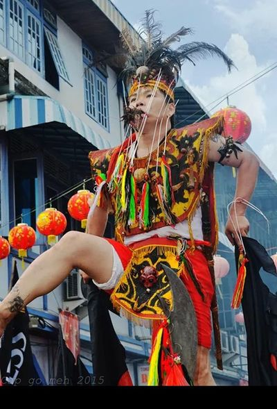 amazing culture Capgomeh Singkawangcity INDONESIA