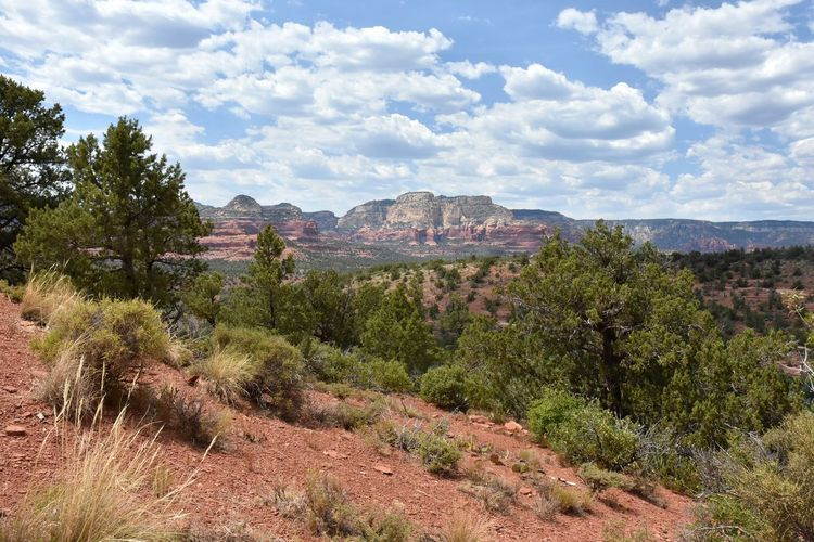 Arizona Beauty In Nature Cloud - Sky Landscape Mountain Nature No People Outdoors Red Rocks  Scenics Sedona Southwest  Tranquil Scene Tranquility Vacation Destination Lost In The Landscape