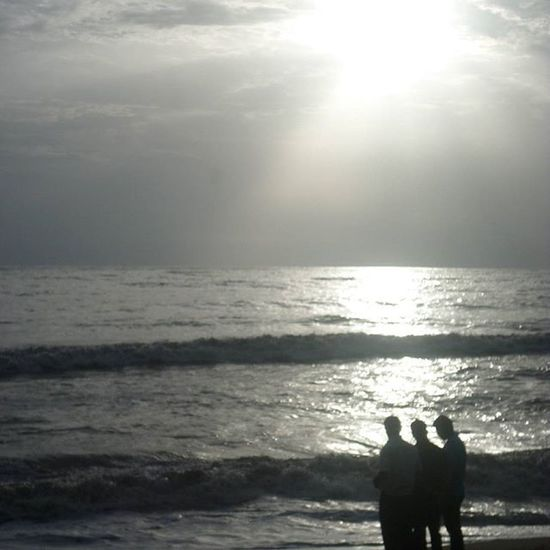 Evening at cherai!! Cherai Evening Sea Ocean Beach Shadow TPSextreme Instagram Igers Kochi Kerala Trippy