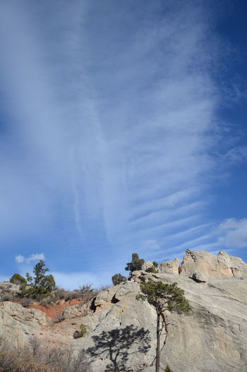Sky Rock Cloud - Sky Beauty In Nature Rock - Object Scenics - Nature Tranquil Scene Solid Tranquility Non-urban Scene Rock Formation Landscape Nature Mountain No People Environment Physical Geography Day Remote Geology Outdoors Climate Arid Climate Formation Eroded