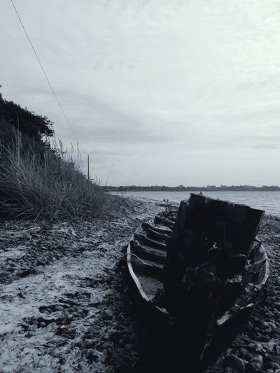 Boat Ship Beach Black And White At The Beach In The Sand Abandoned Abandoned Ship Abandoned Boat