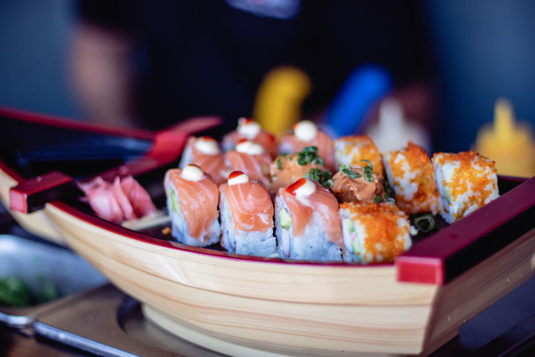 Asian Food Close-up Fish Food Food And Drink Freshness Healthy Eating Indoors  Japanese Food No People Plate Ready-to-eat Rice Sashimi  Seafood Still Life Sushi Table Temptation Tray Vertebrate Wellbeing The Foodie - 2019 EyeEm Awards