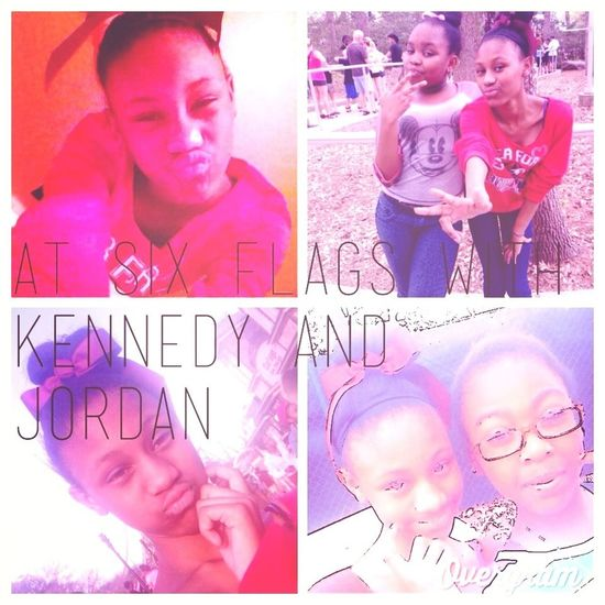 At six flags wit Kennedy&Jordan