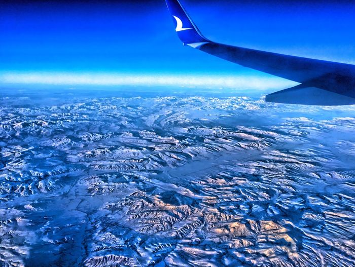 Anatolia Winter Anadolujet HDR Traveling Home For The Holidays