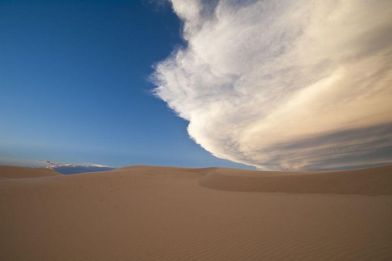 Sand hills in Monahans, Tx Blue Cloud - Sky Desert Landscape Nature Outdoors Sand Sand Dune Scenics Sky