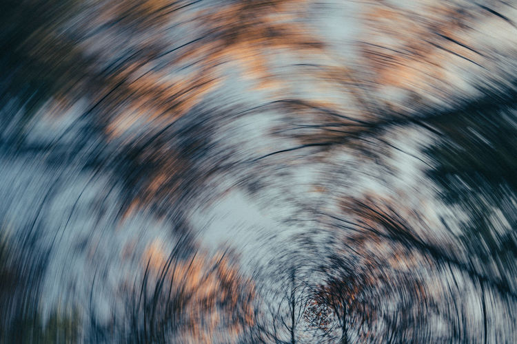 Full frame shot of blurred trees