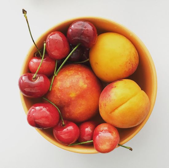 Fruits in a