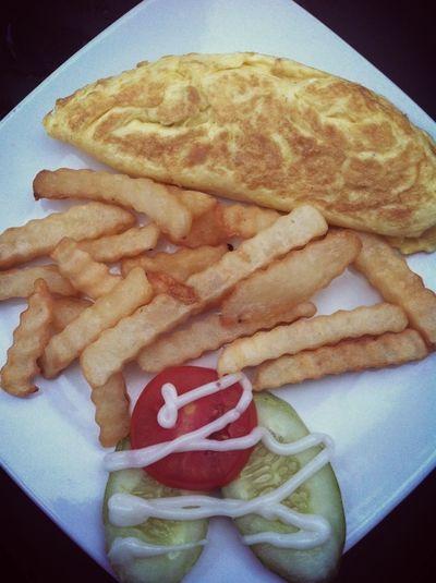 Cheese omelette Omelette Cheese! Couchpotato