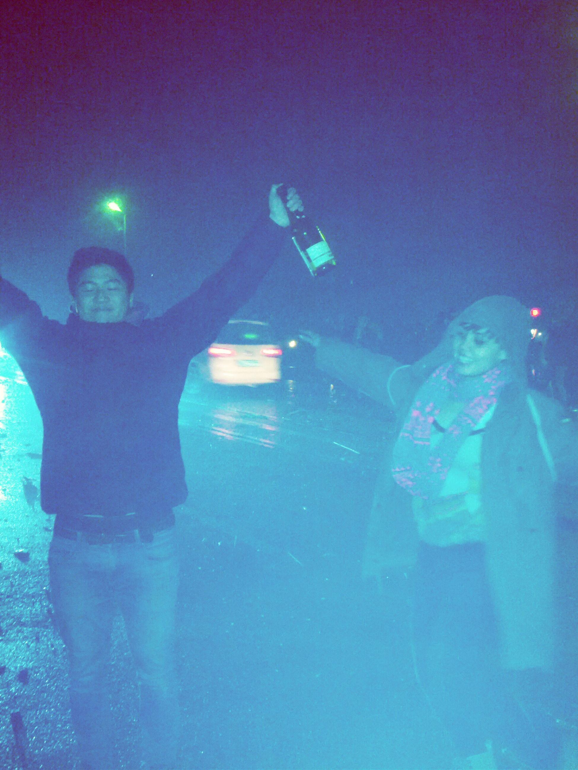 blue, illuminated, underwater, leisure activity, lifestyles, men, swimming, water, night, unrecognizable person, indoors, undersea, full length, adventure, transportation, lighting equipment, exploration, transparent